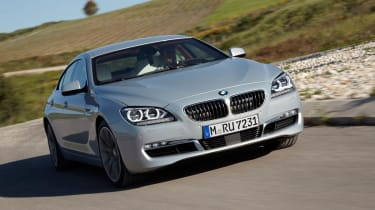 BMW 6-series Gran Coupe front view