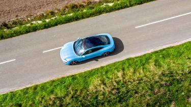 Porsche Taycan 2021 review - 4S top