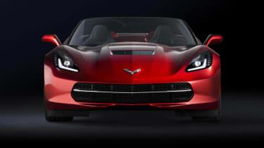 Corvette Stingray red convertible