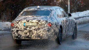 Rolls-Royce Ghost spies