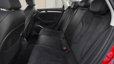 2013 Audi A3 Saloon 1.8 TFSI rear seats space legroom