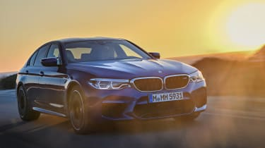 BMW M5 review - front driving