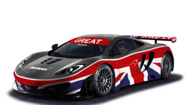 Goodwood FoS: Updated McLaren MP4-12C