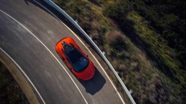McLaren Artura revealed - orange top