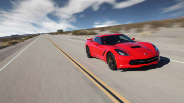 Chevrolet C7 Corvette Stingray - front