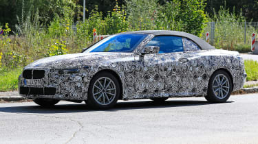 BMW 4-series spy (2019) - quarter
