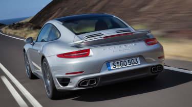 2013 Porsche 911 Turbo rear quarter