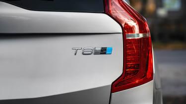 Volvo EV announcement - XC90 badge
