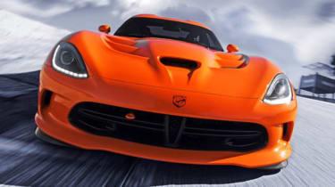 SRT Viper TA Time Attack Crusher Orange