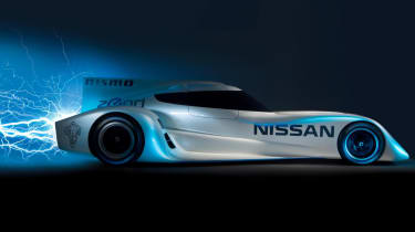 Nissan ZEOD RC to complete all electric lap of Le Mans