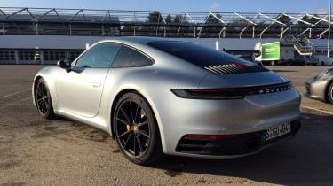 Porsche 911 on location - rear quarter