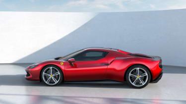 2022 Ferrari 296 GTB – side