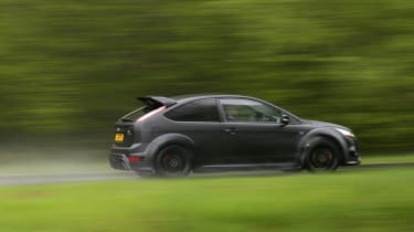 Ford Focus RS500 whizzy pan