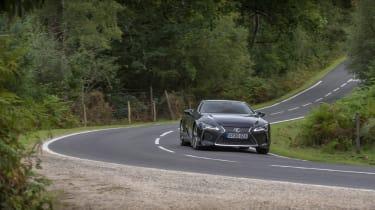 Lexus LC500 MY21 - roadside