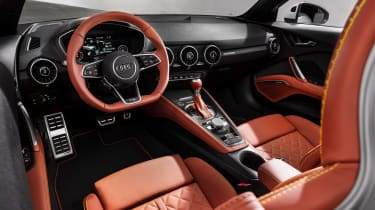 Audi TT facelift - dash