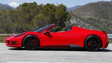 Ferrari 458 Spider Monaco Edition by Mansory side profile