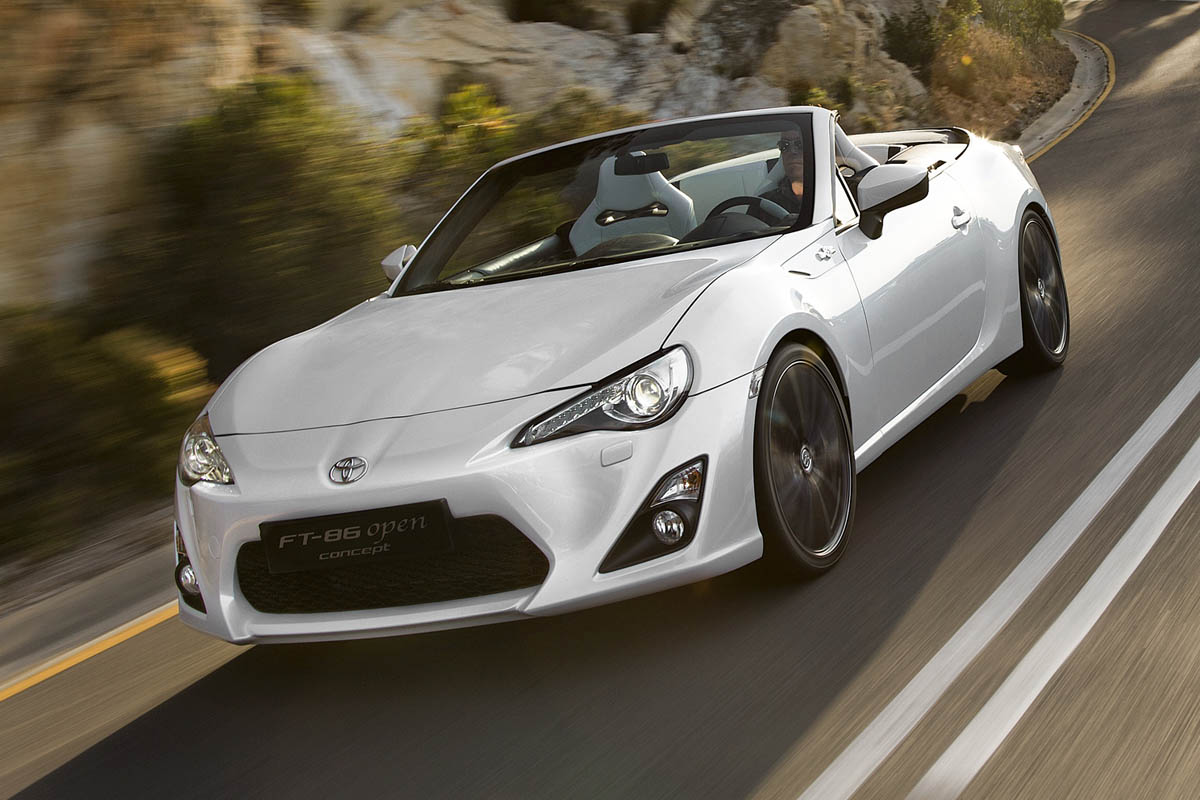 Toyota Ft 86 >> Toyota Ft 86 Open Concept Previews Gt86 Cabriolet News And