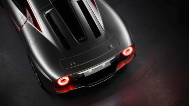 ATS Automobili GT - rear deck