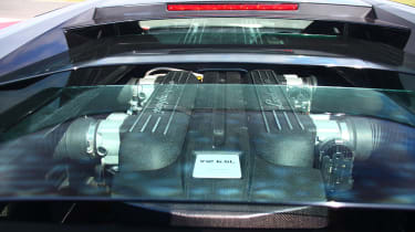Lamborghini Murcielago LP640 engine