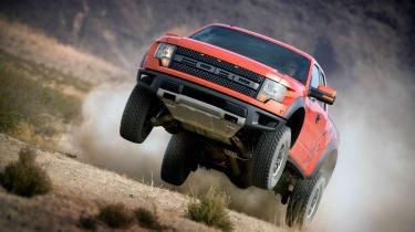 Ford F-150 SVT Raptor pick up review