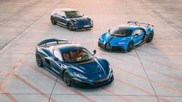 Bugatti-Rimac – three