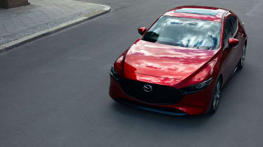 Mazda 3 hatch revealed - front