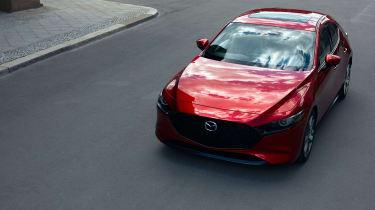 Mazda 3 hatch revealed - front