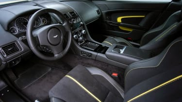 Aston Martin V12 Vantage S interior sports seats