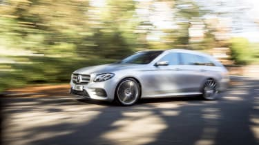 Mercedes E400d Estate review - side