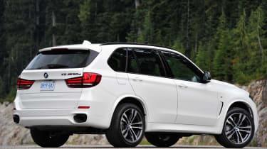 BMW X5 M50d rear