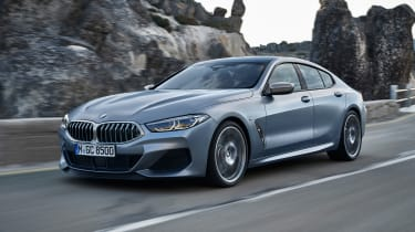 BMW 8-series Gran Coupe front