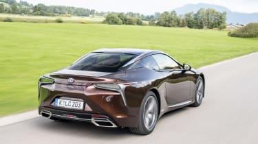 Lexus LC500h - rear quarter