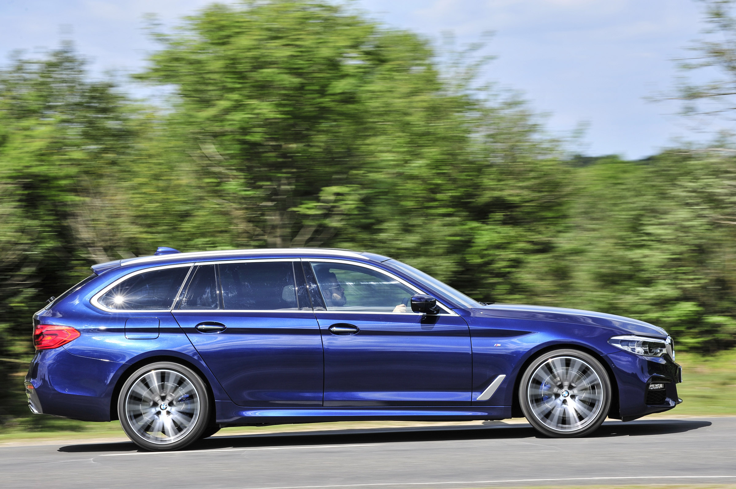 Bmw 5 Series Touring Review Capability And Practicality For Latest Five Evo