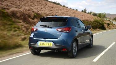 2017 Mazda 2 - rear dynamic
