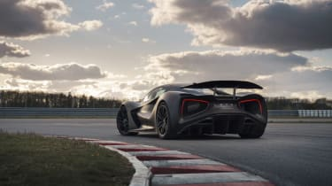 Lotus Evija testing – rear
