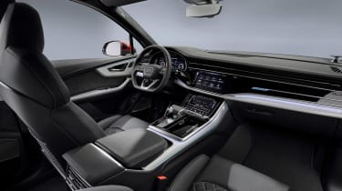 Audi Q7 facelift - dash