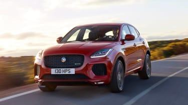 Jaguar E-Pace - driving front 4