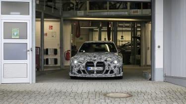 BMW M4 CSL spy 2021 – 10