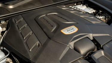 Porsche Cayenne Coupe Turbo GT – engine