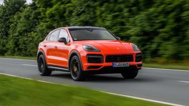 Porsche Cayenne Turbo Coupe - front quarter