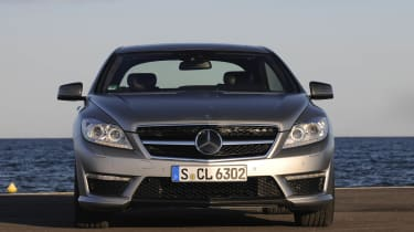 Mercedes-Benz CL63 AMG coupe review