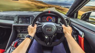 R35 Nissan GT-R Nismo interior