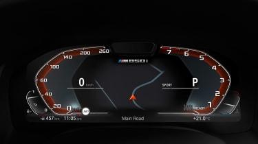 BMW M850i revealed - dials