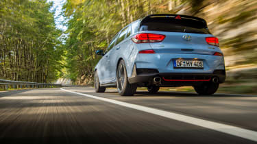 Hyundai i30 N  - rear driving