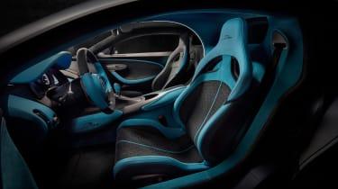 Bugatti Divo - interior