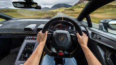 Lamborghini Huracan STO CP – driver shot