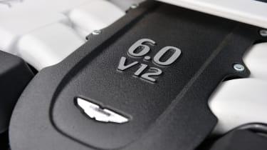 Aston Martin V12 Vanquish engine cover
