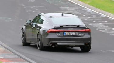 Audi RS7 spy - rear