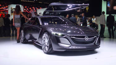 Opel Monza concept car Frankfurt motor show