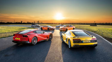 Naturally aspirated engines - group